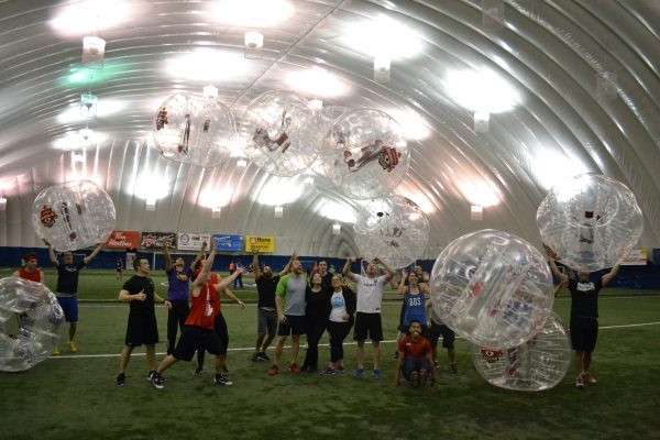 goodlife bubble soccer